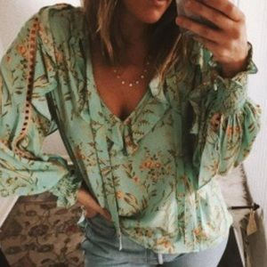 NWT Spell & the gypsy Maisie Vintage Blouse